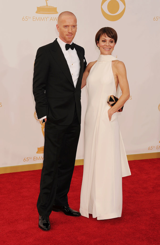 Damian Lewis walked the red carpet with Helen McCrory.