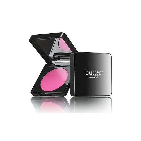 The product: Butter London Cheeky Creme Blush ($20) Why we're packing it: Cream cheek color can be intimidating, especially in a shade as bold as Pistol Pink, but this formula allows for layering and blending. It stays put for hours, so no touch-ups needed.