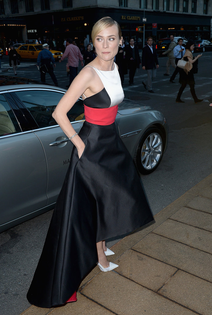 Diane Kruger Makes a Dramatic Entrance at the Opera