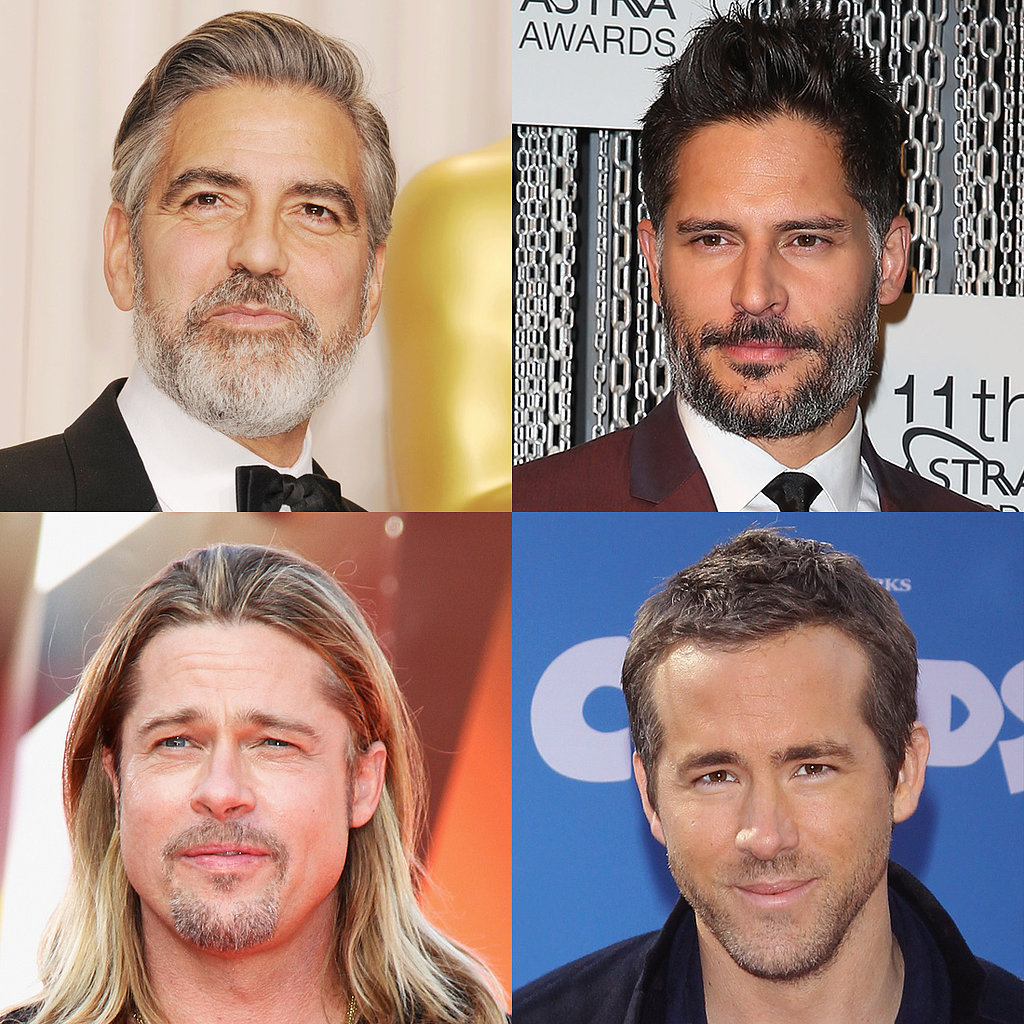 Honorable Mentions:  George Clooney Joe Manganiello Brad Pitt Ryan Reynolds  May your sexy scruff rest in peace.