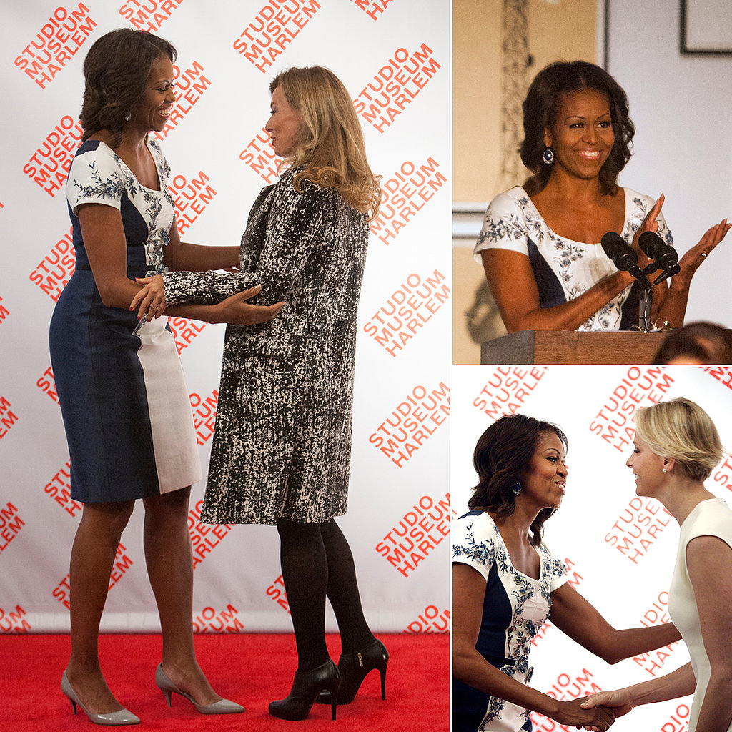Michelle Obama Hosts First Ladies in Harlem