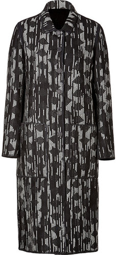 Missoni Wool Coat with Knit Lining