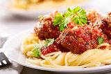 Meatballs Florentine