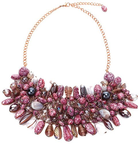 Twist'n'scout moon stone necklace