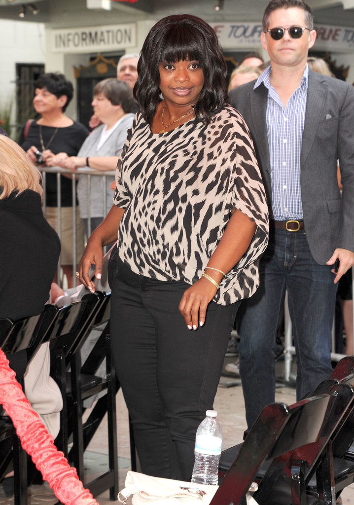 Octavia Spencer was among the supporters at the event.