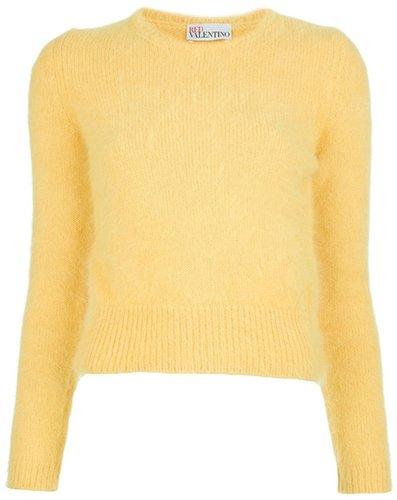 Red Valentino soft classic sweater
