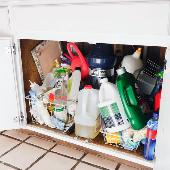 How To Organize Under Your Sink Popsugar Smart Living