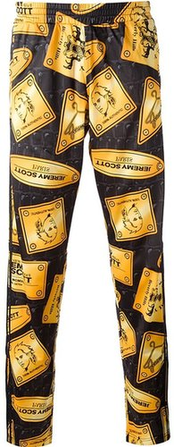 Adidas Originals By Jeremy Scott 'Plaque' trouser