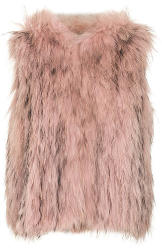 SLY 010 Luxe Racoon Hood Rose