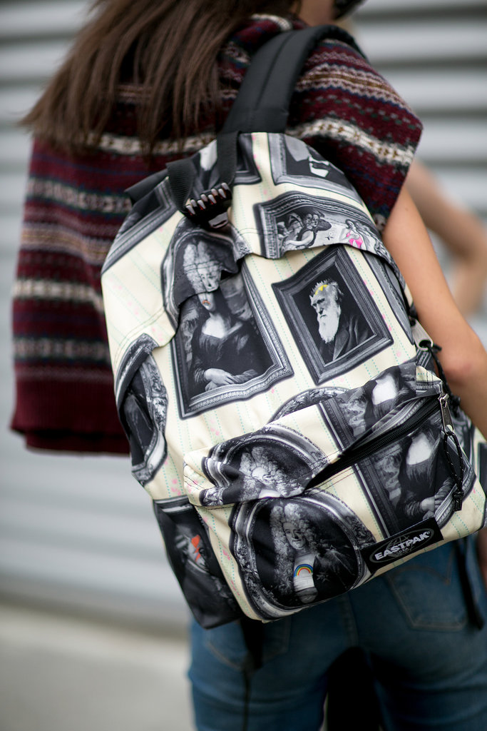 An art school-perfect backpack.