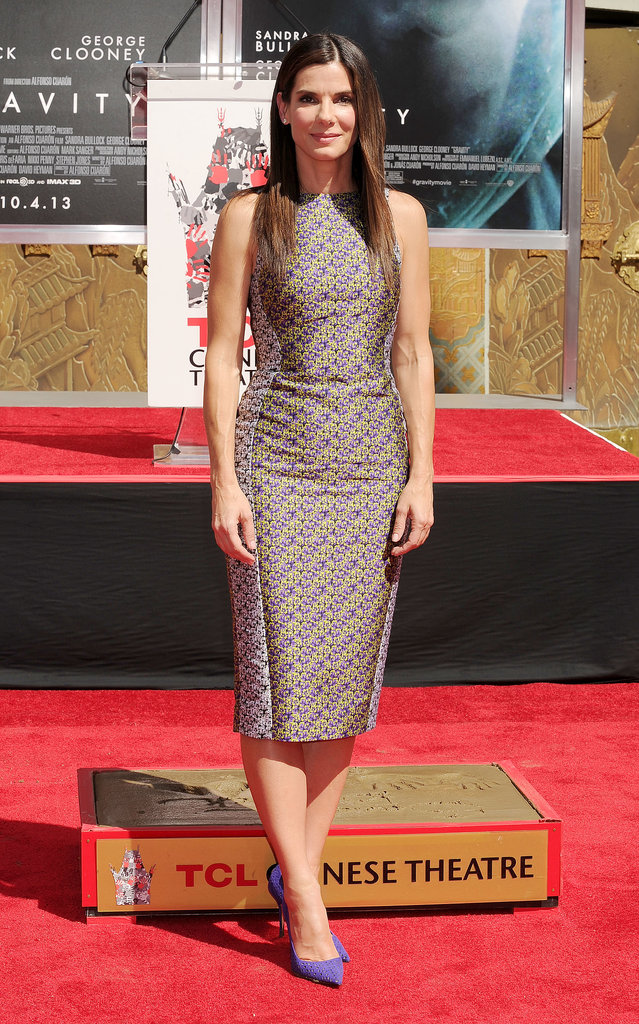 Sandra Bullock at the TCL Chinese Theatre