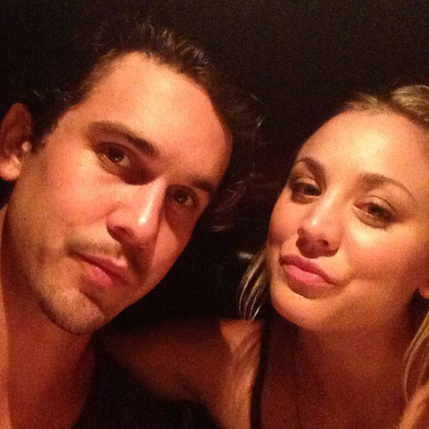 "In August, Ryan shared this pic from a ""date night with my angel #headoverheals.""  Source: Instagram user Ryan Sweeting"