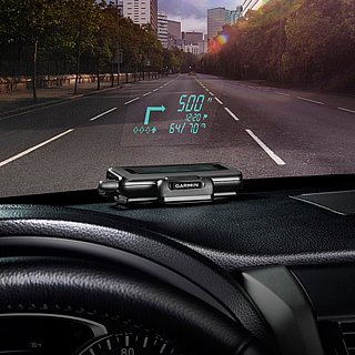 GPS Display on Windshield