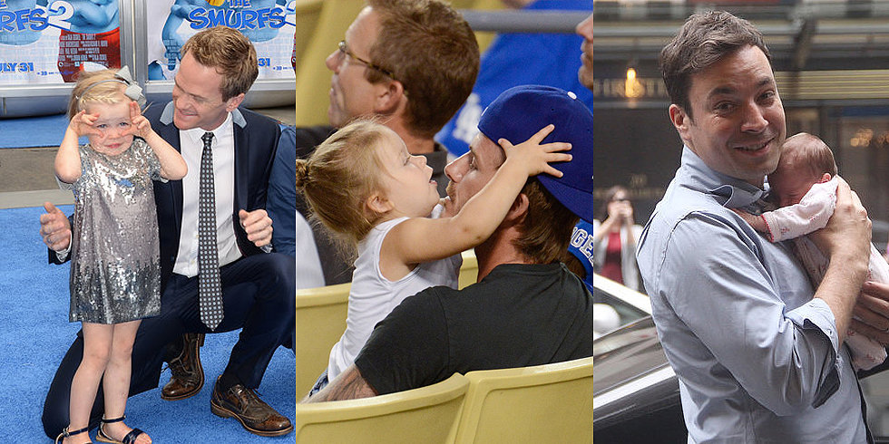 10 Celebrity Dads We'd Love to Call Our Own