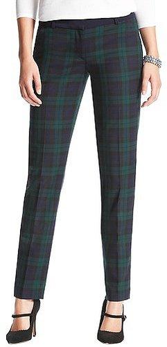Marisa Plaid Ankle Pants