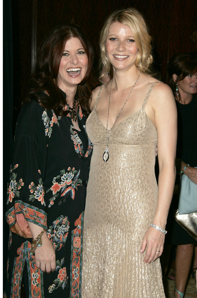 Gwyneth Paltrow posed with Debra Messing at the Crystal + Lucy Awards in LA back in June 2004.
