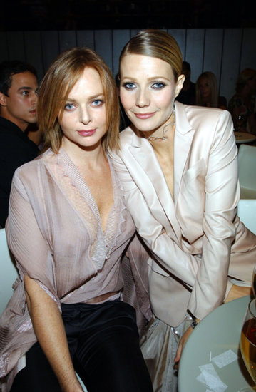 Gwyneth Paltrow and her longtime friend, fashion designer Stella McCartney, attended the VH1/Vogue Fashion Awards together in October 2001.