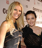 Gwyneth Paltrow and Leighton Meester met up at the Nashville screening of their film Country Strong in November 2010.