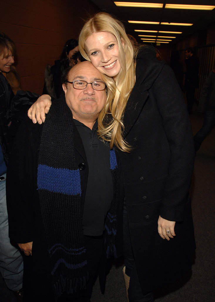 Gwyneth Paltrow hung out with Danny DeVito at the Sundance Film Festival in Park City, UT, back in January 2007.