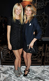 Stems on stems! Gwyneth Paltrow and Cameron Diaz showed off their legs while attending a London reception hosted by the Duke of Edinburgh in October 2011.