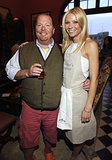 Gwyneth Paltrow and one of her best pals, chef Mario Batali, linked up to celebrate her first book My Father's Daughter, in NYC in April 2011.
