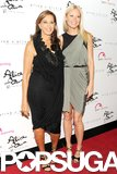 Gwyneth Paltrow posed with designer Donna Karan at a charity event in NYC in June 2011.