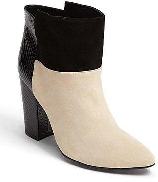 Kristin Cavallari Chinese Laundry Kristin Cavallari 'Allure' Suede Ankle Bootie