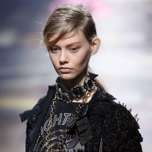 Lanvin Spring 2014 Hair and Makeup | Runway Pictures