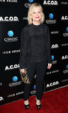 Amy Poehler wore all black.