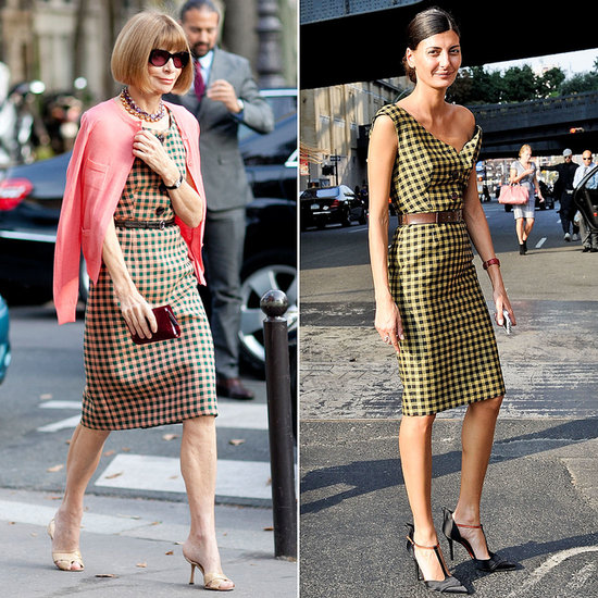 Seeing Double! Fashion Week's Street Style Dopplegängers
