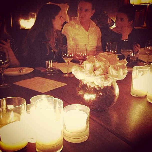 The mood was set at the Bailey44 dinner. Candlelight is always a good choice.