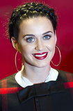 Out in Berlin to promote her new fragrance, Katy Perry proves you really can do a milkmaid braid for Fall.