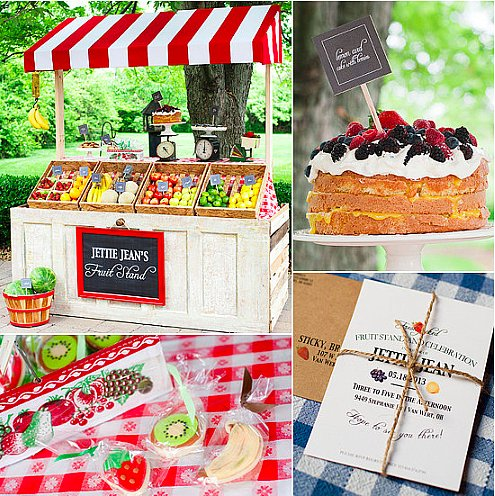 A Fruit Stand Birthday Party