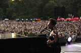 Alicia Keys performed at the Global Citizen Festival.