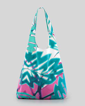12th Street by Cynthia Vincent Summer Leaf Shopper Bag