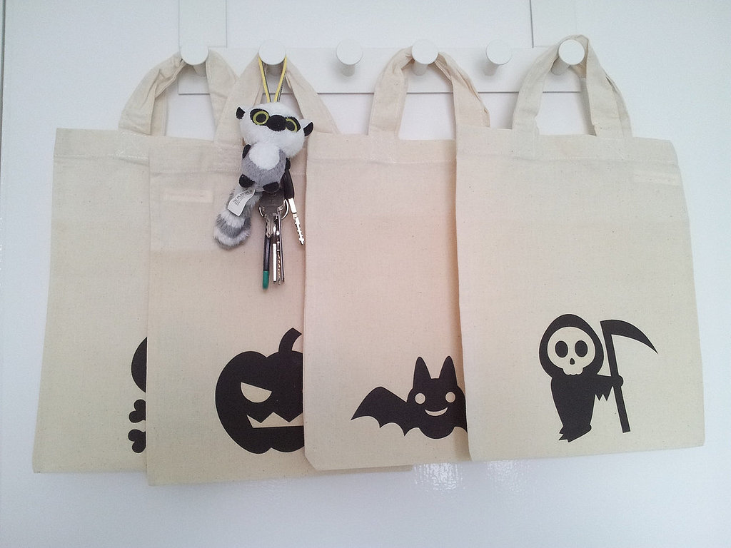 Natural Cotton Trick-or-Treat Bags