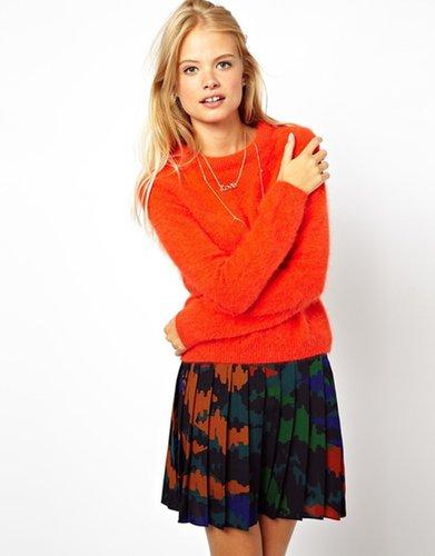 ASOS Premium Ultimate Angora Sweater