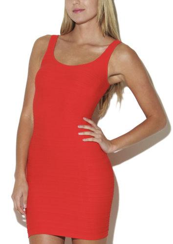 All-Over Rib Tank Dress