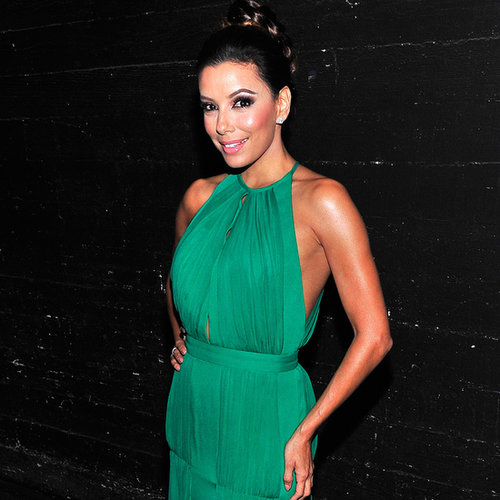 Eva Longoria Dresses at 2013 Alma Awards