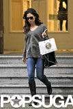 Jenna Dewan went shopping in downtown Vancouver.