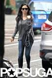 Jenna Dewan walked around downtown Vancouver on Sunday.