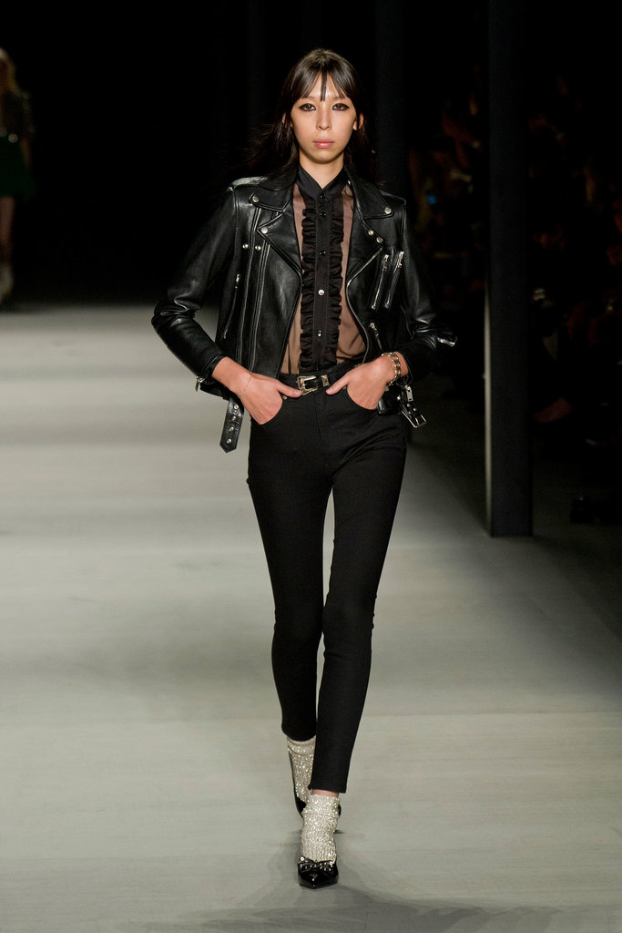 Saint Laurent Paris Spring 2014