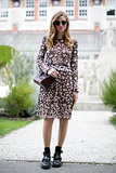 Chiara Ferragni did girlie with an irreverent twist.