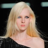 Hair and Makeup at Saint Laurent 2014 Paris Fashion Week