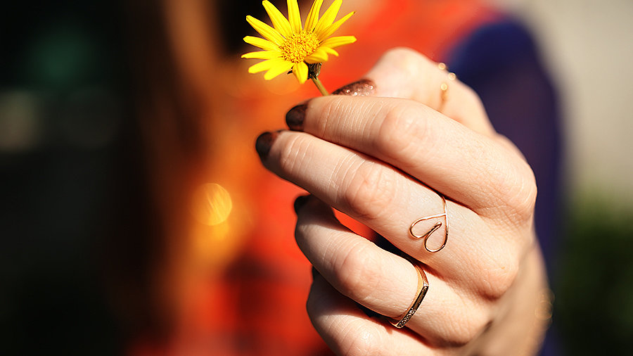 DIY: Cute Heart Ring