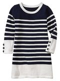Gap Striped Sweater Dress