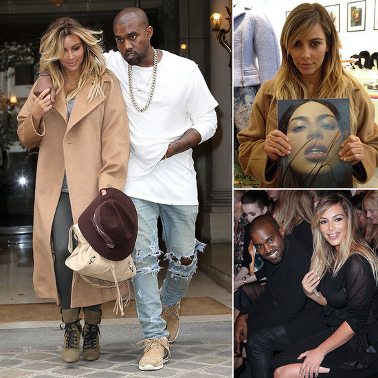 Kim and Kanye Take Paris For a Cray Fashion Week