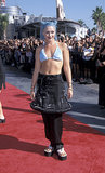 Gwen went futuristic punk topping her structured skirt-and-pants combo with a blue bikini top at the 1998 MTV Movie Awards.