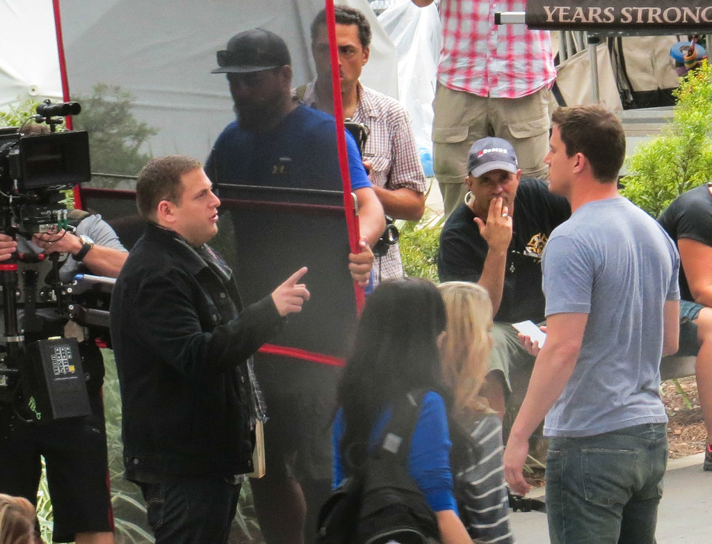 Jonah Hill and Channing Tatum filmed 22 Jump Street.
