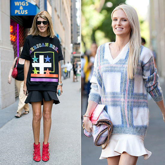 Three Ways To Nail This Street Style Trend